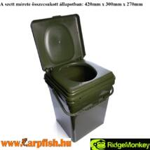 RIDGEMONKEY COZEE TOILET SEAT FULL KIT - TÁBORI WC KOMPLETT SZETT XL