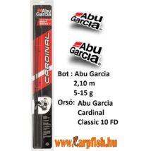 Abu Garcia Cardinal Freshwater Combo 2,1 m 5-15g  pergető bot + orsó zsinórral