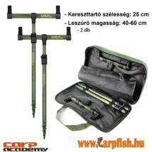 Carp Academy Buzz Bar  szett Bottartó készlet Black Carp 2db-os 40-60cm/25cm