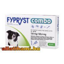Fypryst Combo M Kullancs -és bolhaírtó csepp kutyáknak 10-20 kg  1,34 ml