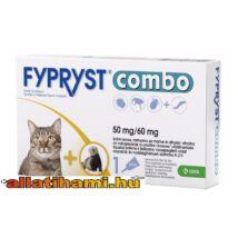 Fypryst Combo kullancs -és bolhaírtó csepp macskáknak és vadászgörénynek  0,50 ml