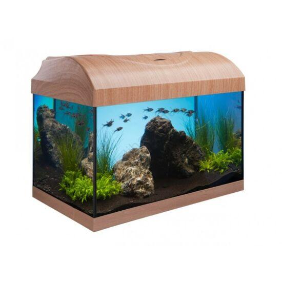 Diversa egyenes 25 l akvárium szett fekete és bükk színben