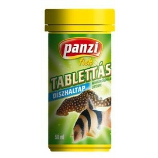 Panzi Tablettás díszhaltáp 50ml