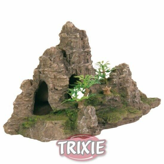 Trixie 8853  szikla növénnyel