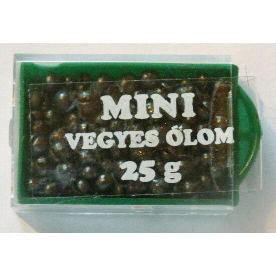 Mini vegyes ólom 25g