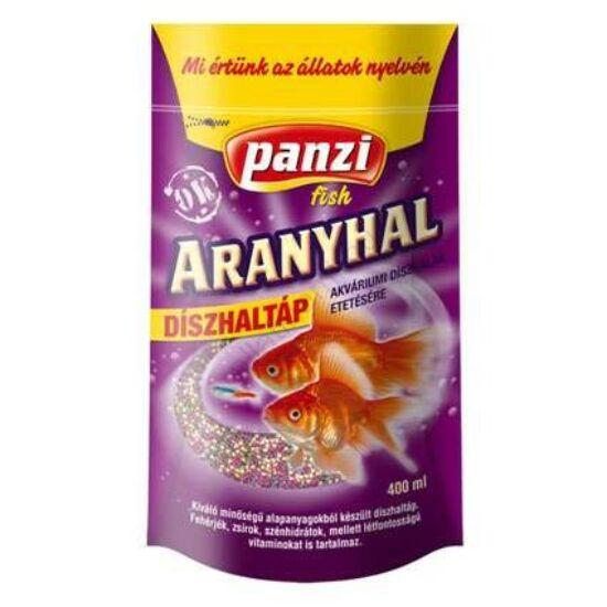 Panzi Aranyhal díszhaltáp 400 ml