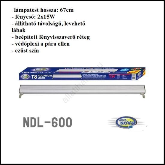 Aqua Nova NDL-600  T8    2 X 15 W