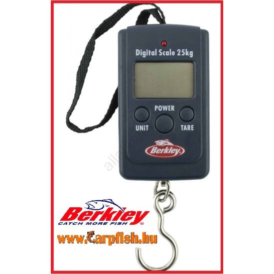 Berkley digitális mérleg 25 kg