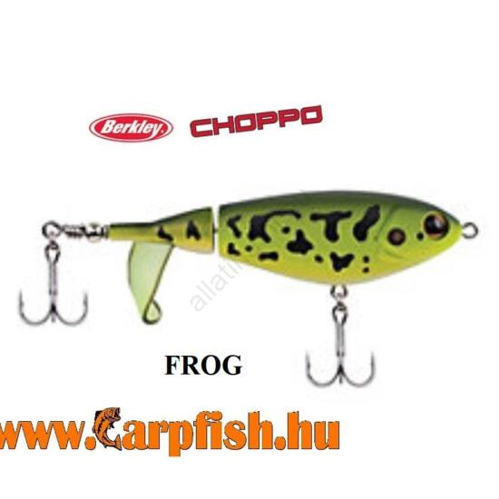 Berkley Choppo wobler FROG  120 mm
