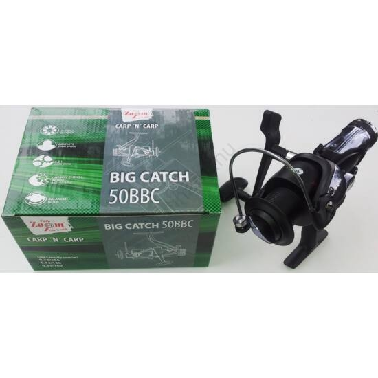 Carp Zoom Big Catch 50  nyeletőfékes orsó