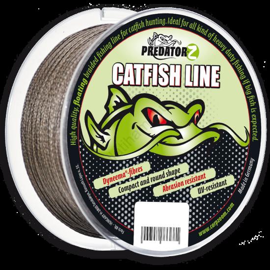 Predator-Z Catfish Line fonott zsinór  0,80 mm    100 m
