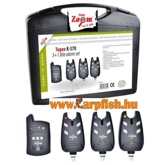 Carp Zoom Topex K-370 Elektromos kapásjelző szett 3+1