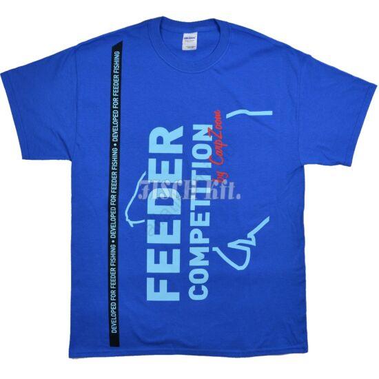 Carp Zoom kék Feeder Competition póló