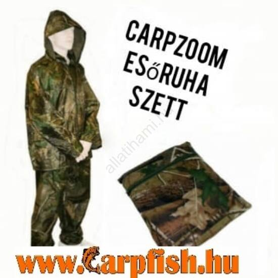 CarpZoom Profi camou esőruha szett (HIGH-Q Rain Suit)