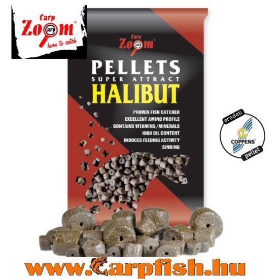 Carp Zoom Pre-drilled fúrt  Halibut Pellets Black 800 gr