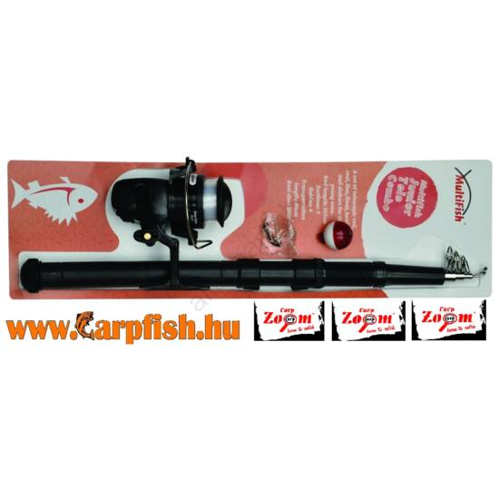 Carp ZoomMultiFish Junior Tele Combo gyerekszett(CZ3765)