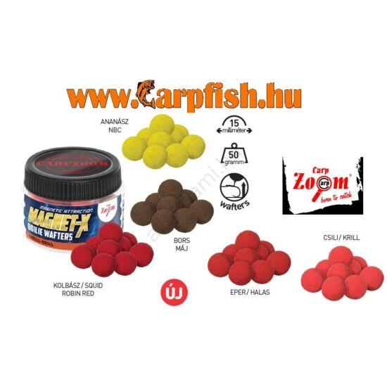 Carp Zoom Magnet-X  Boilie Wafters  Prémium wafters bojli 50g/15mm