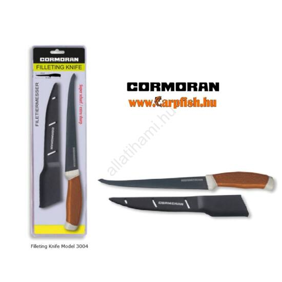 Cormoran filéző kés tokkal