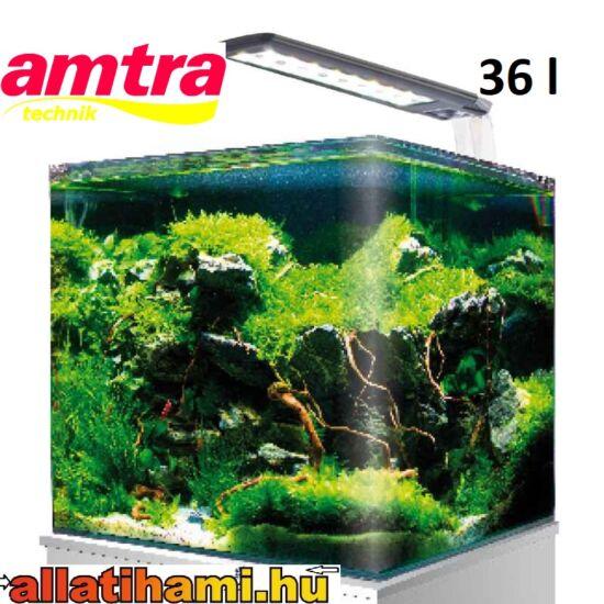 Amtra Nano Tank 36 - Nano Aquarium 36 liter komplett világítással és szűrővel