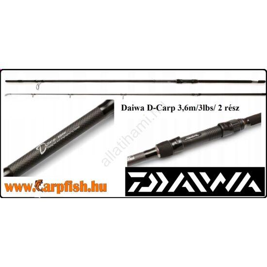 Daiwa D-Carp 3,6m/3lbs/ 2 rész /bojlis bot