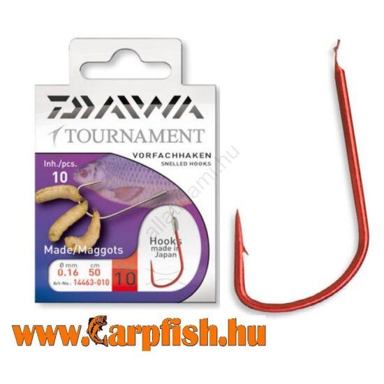 Daiwa Tournament előkötött csontis horog 10 db/csmg