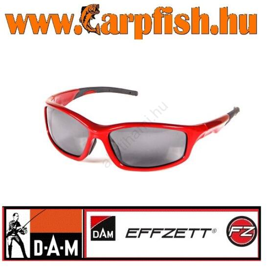 D.A.M EFFZETT NAPSZEMÜVEG BLACK and RED