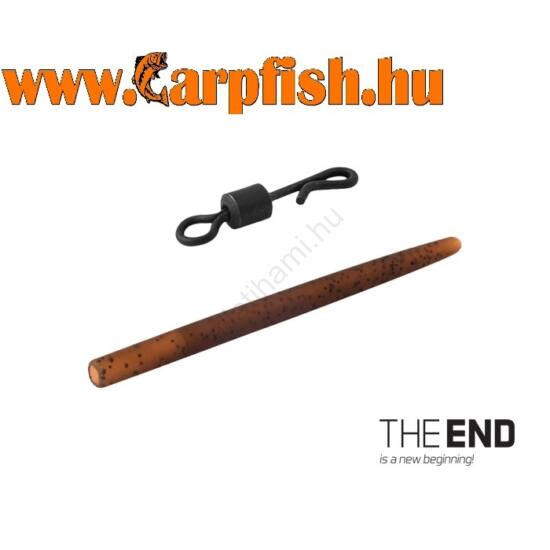 Delphin THE END Forgó gyorskapocs gumihüvellyel / 6db