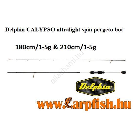 Delphin CALYPSO ultralight spin pergető bot 210cm/1-5g
