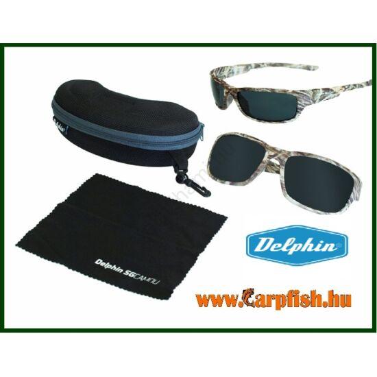 Delphin Polarizált lebegő napszemüveg   SG CAMOU