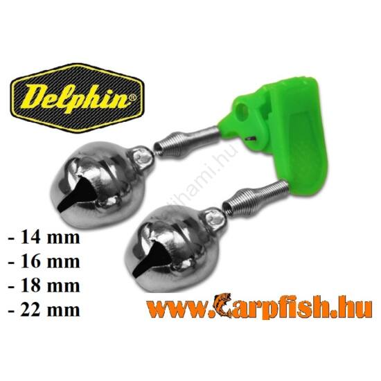 Delphin csörgő műanyag csipesz / 1db