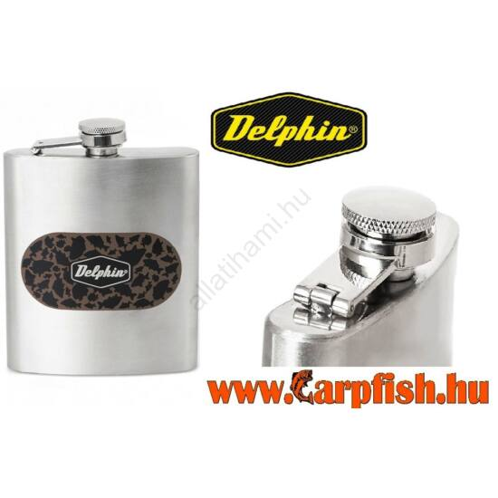 Rozsdamentes flaska Delphin CARPATH   210 ml