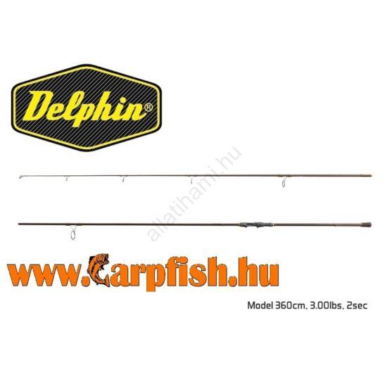 Delphin IMPALA Carper bojlis bot 360cm/3.00lbs 2 részes