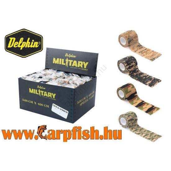 Delphin Military Álcázó ragasztószalag  5 cm x 450 cm