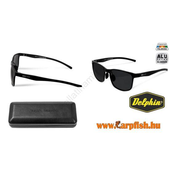 Delphin Polarizált napszemüveg SG BLACK fekete  lencsével