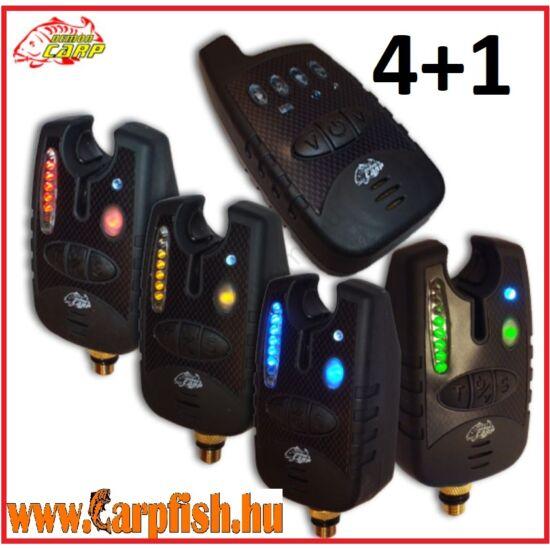 Demon Carp Digitális elektromos kapásjelző szett 4+1