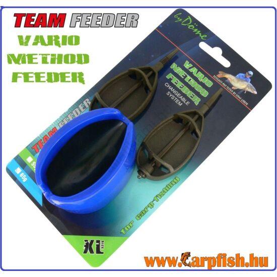 By Döme TEAM FEEDER Vario Method Feeder kosár 2+1 szett XL 65 g