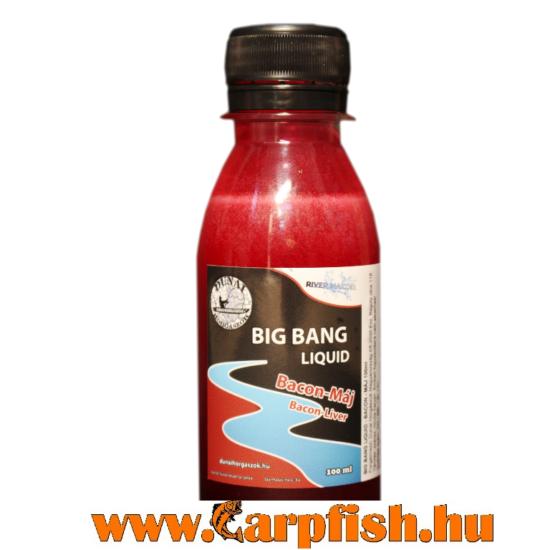 DunaiHorgászok Big Bang liquid- bacon/máj  100 ml