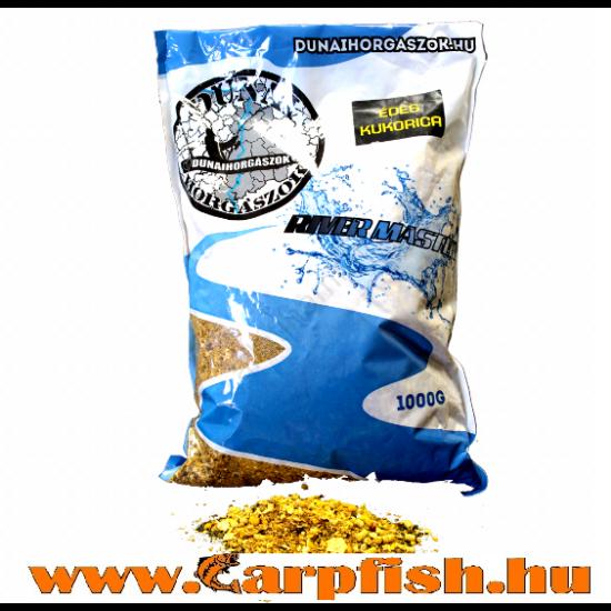DunaiHorgászok River Master – édes kukoricás etetőanyag  1 kg