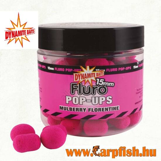 Dynamite Baits Fluro Pop-Up bojli 15mm