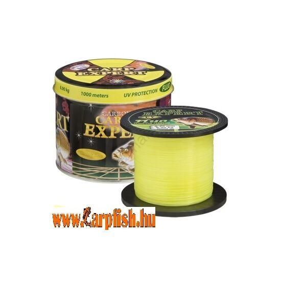 Carp Expert  UV Fluo sárga  1000m Fémdobozos zsínór
