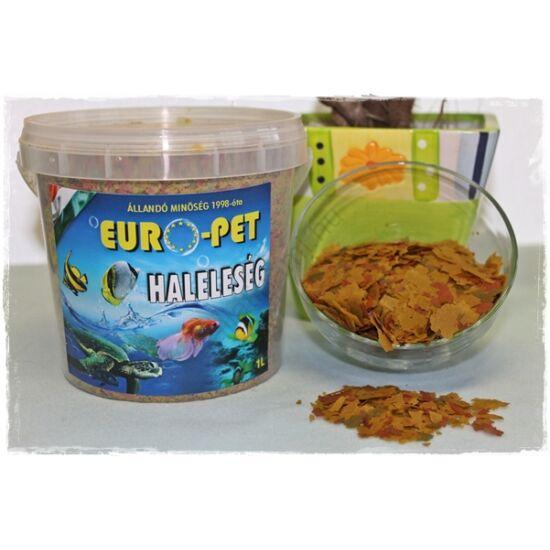 Euro-Pet lemezes díszaltáp 1 liter