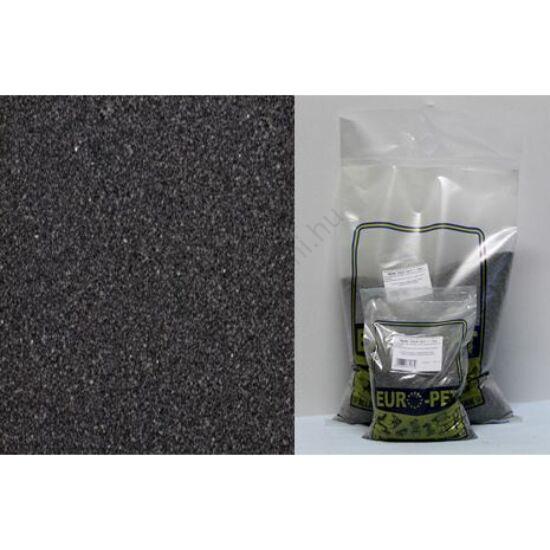 Euro-Pet  fekete homok 15 liter ( kb 18 - 20 kg)