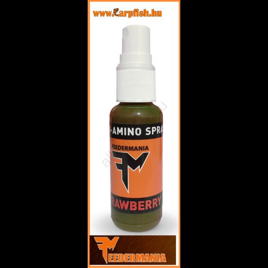 FEEDERMANIA Fluo Amino Spray STRAWBERRY (eper) 30 ml