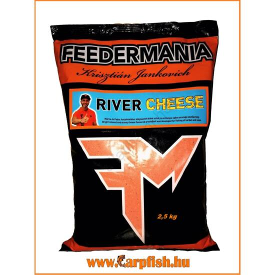 Feedermania River Cheese etetőanyag  2,5 kg