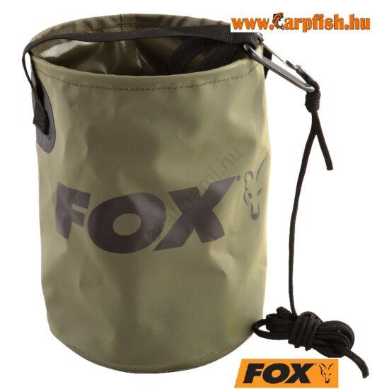 Fox Vízmerítő Vödör Összehajtható Large 10l