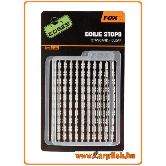 Fox Edges Boilie Stops Standard Clear stopper  (bojli stopper )