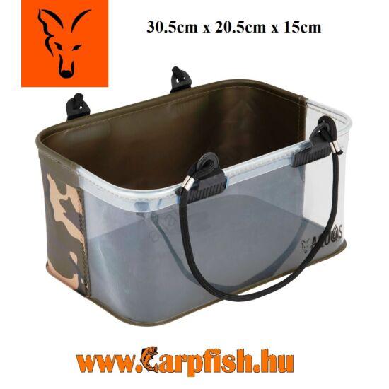 Fox Aquos Camo Rig Water Bucket összecsukható vödör 9,3 liter