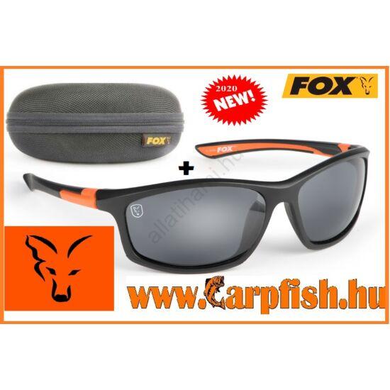 Fox fekete/narancs  szürke lencse napszemüveg(2020)