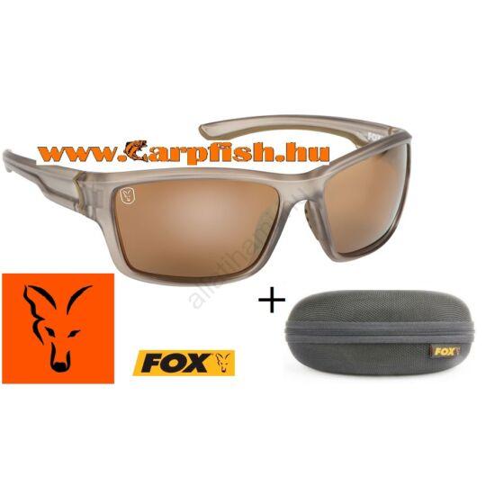 Fox  Avius Trans Khaki Brown Lens napszemüveg( Khaki Keret/ Barna Lencse) (CSN045)