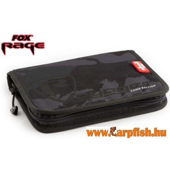 Fox Rage Camo License Wallet Igazolványtartó táska 20x14x3 cm